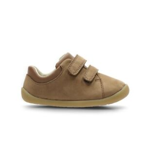 Clarks Boys Shoe Roamer Craft T Tan Size 3.5 F Cruiser RRP £28