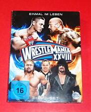 Wrestlemania XXVIII -- 3er-DVD
