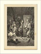 San nicolás Niklas Krampus relamente holzstichl 1309