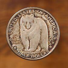 1936-S Bay Bridge 50C US Silver Half Dollar Commemorative Coin