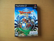 DRAGON QUEST VIII 8 + DEMO final fantasy 12  VERSIONE AMERICANA NTSC NUOVO PS2