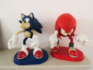 Sonic The Hedgehog & Knuckles The Echidna Large Talking Action Figures (2000)