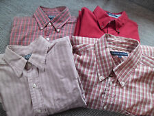4x Hemd Polo Ralph Lauren Chaps Tommy Hilfiger Gr. L kurzarm langarm