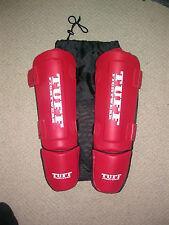 TUFF con MMA MUAY THAI BOXING Imbottito Protezioni Gamba Larga L.. UFC KSW GYM NUOVO
