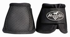 Professionals Choice Ballistic Overreach Bell Boots Secure Fit Black Horse Tack
