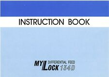 New Home My Lock 134D *Instructions or Service manual / Parts * CD or DWNLD