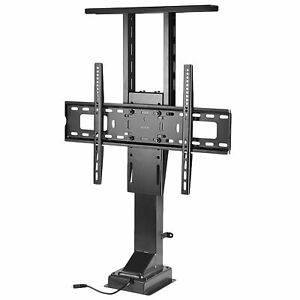 """VIVO TV Motorized Vertical Stand Lift 37"""" to 65"""", Height Adjustable Mount"""