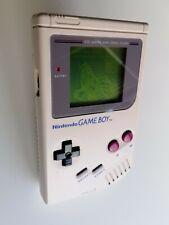 Nintendo Game Boy Classic Handheld  - Grau Konsole DMG - Mit neuem Gehäuse