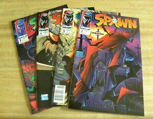 Image Spawn 1 2 3 4 Comic Book Lot Excellent
