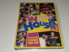 WWE THE BEST OF IN YOUR HOUSE PPV PAY PER VIEW CLASSICS 1995-1999 3-Disc DVD Set
