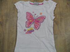 TOPOLINO schönes Shirt Schmetterling weiß Gr. 116 TOP KSo118