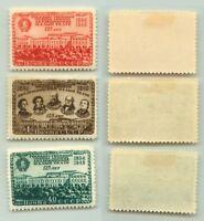 Russia USSR, 1949 SC 1400-1402, Z 1357-1359 mint. f481