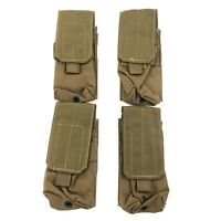 Resource Center Double Mag Pouch, Military Coyote, USMC Magazine Kit, 4 PACK
