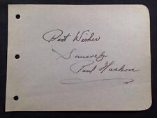 Cards & Papers 1946 Peter Donald Vintage Original Signature Autograph Paper A199 Entertainment Memorabilia