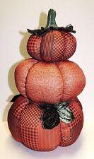 Fall Harvest Thanksgiving Halloween Decoration - Stack of Pumpkins - New