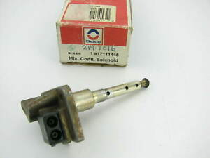 Acdelco OEM GM 17111445 Carburetor Mixture Control Solenoid  NEW OLD STOCK