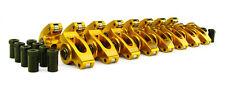 Comp Cams 19001 16 15 38 Aluminum Roller Rocker Arms Set For Chevrolet Sbc