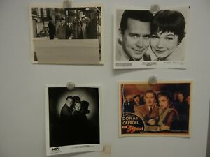 Lot of 4 Alfred Hitchcock Film Photos 8x10