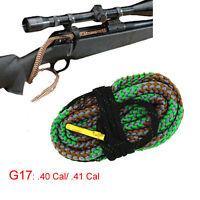 Xhunter Bore Snake .40Cal .41Cal Boresnake Cleaning Kit Brush Rifle Cleaner G17