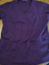 c0e5e3b28f5 Ua butter soft scrub top xs!! Dark purple/EUC!