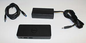 Dell DockingStation D1000 USB 3.0 HDMI DisplayPort VGA LAN inkl. Netzteil