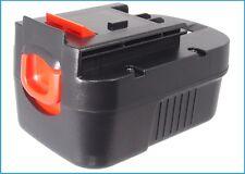 UK Batteria per BLACK & DECKER BDG14SF-2 BDGL1440 499936-34 499936-35 14.4 V ROHS