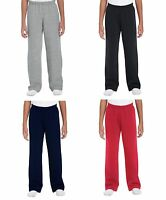 Boys Girls Fleece Jogging Bottoms Joggers Childrens School Kids Jog Pants
