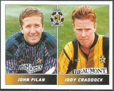PANINI FOOTBALL LEAGUE 95 -#421-CAMBRIDGE UNITED-JOHN FILAN / JODY CRADDOCK