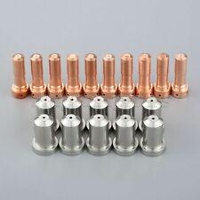 10 Pieces Nozzles 33418 Electrodes 33366 80A Fit PT-23 & PT-27 Plasma Torches