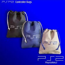 Sony Playstation 2 pull string canvas controller bags