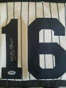 Whitey Ford Autographed Official MLB NY Yankees Jersey