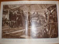 LNER PaintShop Doncaster PITTURA Locos 1947 UK stampa