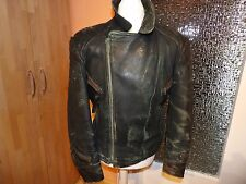 Oldtimer-Jacke abgerockte Motorradjacke Bikerjacke Lederjacke 50er 60er Jahre