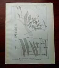 1908 USGS Sketch Plan Diagram of Mamie Mine Alaska