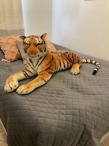 Giant Stuffed Tiger Lifelike