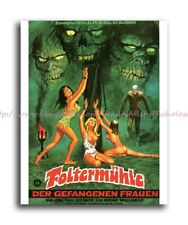 "baby wall posters grapes of death classic horror movie poster 8x10"" print"