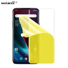 3D Hydrogel Film For Oneplus 7 Pro TPU Screen Protector Clear GEL Soft d6 uk