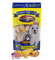 Shadow River USA Hickory Smoked Lamb Ear Treats for Dogs - 10 Pack Regular Size