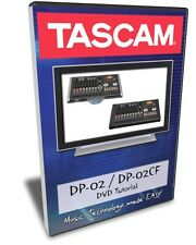 Tascam DP-02 / DP-02CF DVD Video Training Tutorial Help