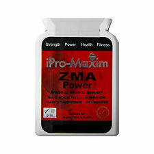 EXTREME ZMA PRO TESTOSTERONE BOOSTER MUSCLE GROWTH MAGNESIUM B6 90 x1000mg caps