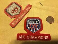 "Buffalo Bills AFC Champions 2 3/4"" Patch Super Bowl XXV (25) Logo Football"