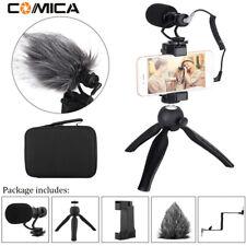 Comica Smartphone Video Kit CVM-VM10-K2 Filmmaker Mini Tripod with Phone Clip SG