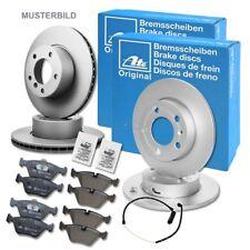 4x ATE BREMSSCHEIBE+BREMSBELÄGE VORNE+HINTEN VW GOLF 4 1.4-2.0 BJ 99-06