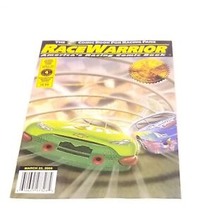 Race Warrior, America's Racing Comic Book (2000) #4 , New bag and board included