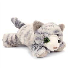 "HUG'EMS MINI GREY TABBY CAT 7"" PLUSH STUFFED ANIMAL TOY BY WILD REPUBLIC - BNWT"