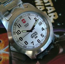 NEW VicTorinoX SWISS ARMY~Men FIELD Watch~LUCAS FILMS STAR WARS 30TH Anniversary