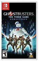 GHOSTBUSTERS: THE VIDEO GAME REMASTERED NINTENDO SWITCH BRAND NEW FACTORY SEALED