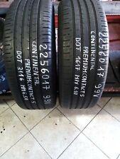 gomme pneumatici usati 225 60 17 continental premium 2 unitàeuro 58,00