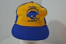 VTG San Diego Chargers Sports Unlimited Snapback Trucker Hat NFL Football Bolts