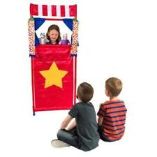 Puppet Theatre Playset Kids Toy Fun Activity Little Red Riding Hood Show Story